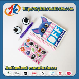 Funny Stationery Set Notebook with 3D Stickers Toy pictures & photos