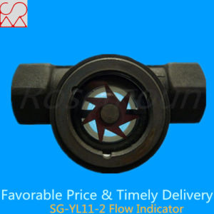 Tianhe Brand Visual Paddle Wheel Flow Indicator pictures & photos