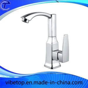 Polished Chromed Basin Hot/Cold Faucet pictures & photos