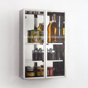 Wall Mounted Stainless Steel Kitchen Cabinet 7035 pictures & photos