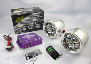 Visual MP3 Mutilfunctional Motorcycle Audio with Alarm System pictures & photos