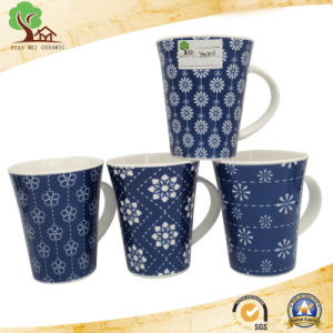 Excellent Quality Chinese Design Ceramic Decal Mugs pictures & photos