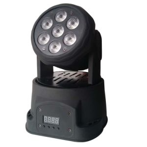 RGBWA+UV 6in1 Small LED Moving Head Light for Stage Lighting pictures & photos