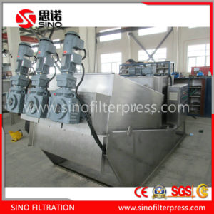 Moving Plate Screw Filter Press for Sludge Dewatering pictures & photos