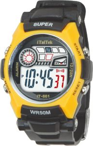 Fashion 5ATM Waterproof Sports Digital Watches pictures & photos