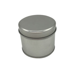 Seamless Candle Tin Round Shape Candle Jar pictures & photos