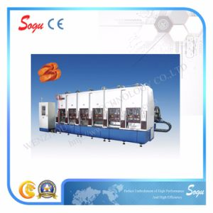 Xk0796 Big Moulding Plate Upside-Down Toggle-Type Full-Auto EVA Injection Moulding Machine with Servo Motor pictures & photos