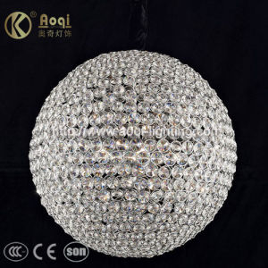 Round Clear Crystal Pendant Lamp (AQ-5606) pictures & photos