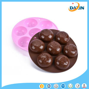 Smile Shape Food-Grade Silicone Cake/Chocolate Mold pictures & photos