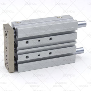 Dopow Three Shafts Slide Pneumatic Cylinder Mgpm 20-50 pictures & photos