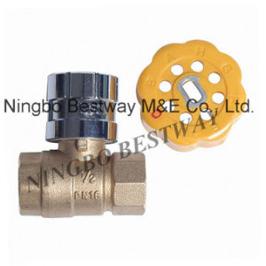 Hot Sale Lockable Ball Valve pictures & photos