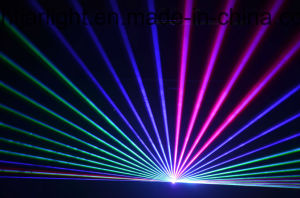 6W RGB Full Color Animation Laser Light Stage Lighting pictures & photos