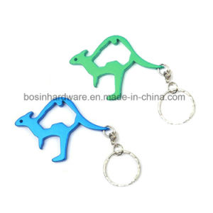 Kangaroo Shaped Aluminum Bottle Opener for Souvenir pictures & photos