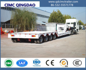 Hot Sale 4 Axles 100ton Low Bed Trailer Made in China pictures & photos