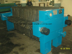 Oil Filter Press with Cast Iron Filter Plate pictures & photos