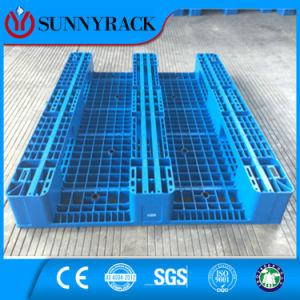 ISO9001 Certificated 100% HDPE Plastic Pallet pictures & photos