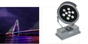50W AC220-240V RGBW LED Spot Light for Outdoor (SLS-24C-color) pictures & photos
