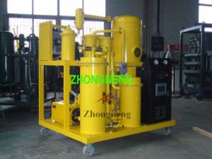 Used Lubricant Oil Filtration System, Vacuum Oil Purifier Plant pictures & photos