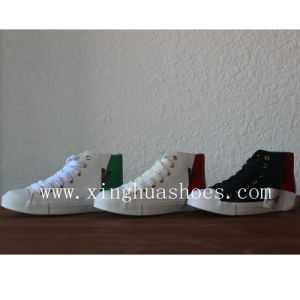 Canvas Shoes High-Top Comfort Sneaker Shoes pictures & photos