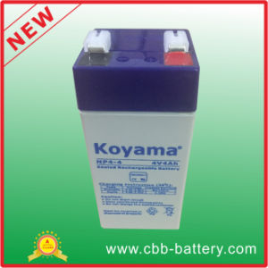 Hot Sale and Good Price Lead Acid 4V4ah 20hr Electronic Scale Battery pictures & photos