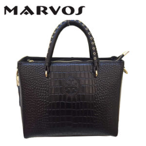 China Wholesale Leather Handbag / Lady′s Tote Handbag Ma1648