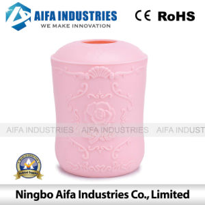 Round Plastic Tissue Box Injection Mould with Different Colour pictures & photos