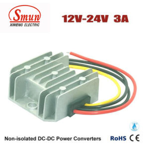 12V-24VDC 3A DC-DC Converter Car Power Supply with Waterproof IP68 pictures & photos