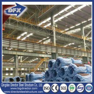 China Cheap Industrial Prefab/ Metal Roof/ Steel Warehouse for Sale pictures & photos