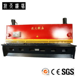 QC11Y-10X3200 Hydraulic Guillotine Steel Plate Shearing Machine pictures & photos