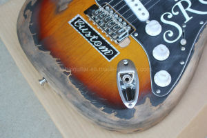 Hanhai Music/Retro St Style Electric Guitar (SRV Model) pictures & photos