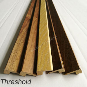 MDF with Wood Veneer Threshold /End Cap / Carpet Reducer Wood Moulding