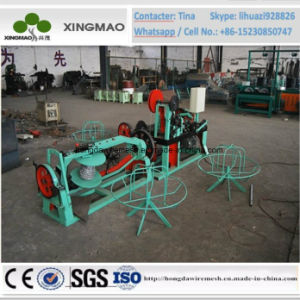 China Automatic Double Stranded Twisted Barbed Wire Rope Making Machine (XM20) pictures & photos