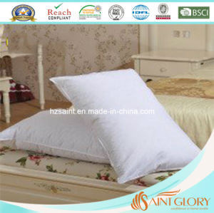 Classic Soft White Goose Duck Down Feather Pillow pictures & photos