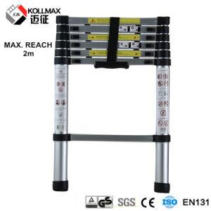 2m Aluminum Telescopic Ladder pictures & photos