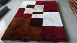 Flower Shaggy Carpet