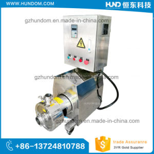 Stainless Steel Inline High Shear Emulsion Pump pictures & photos