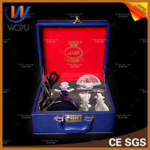 Shisha Nargile Single Pipe with Leather Case Hookah pictures & photos