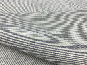 Yarn Dyed Tencel Linen Cotton Blended Fabric-Stripe-Lz8408 pictures & photos
