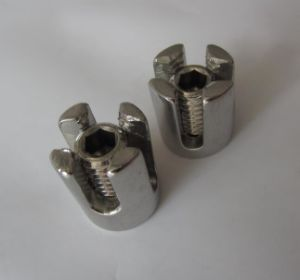 Stainless Steel Net Clip with Half/Through Thread pictures & photos
