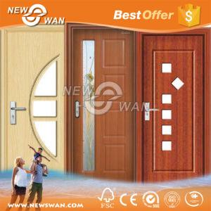 Competitive Price PVC MDF Door Wooden Door for Interior Bathroom pictures & photos