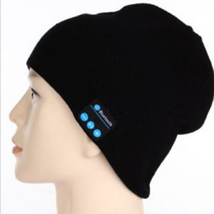 High Quality Knitting Bluetooth Beanie Hat with Headphone MP3 Music Earphone Knitted Cap Hat