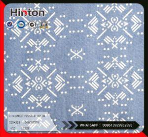 Discharge Printed 100%Cotton Denim Fabric 4oz pictures & photos