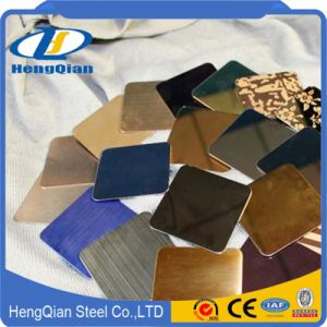 Decorative Stainless Steel Sheet 201 304 pictures & photos