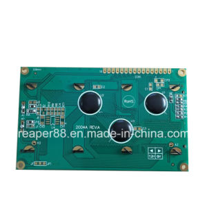 Stn Yellow Green LCD 2004 COB Display Character LCD Module pictures & photos