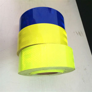 Fluorescence Customized Color Pet Reflective Tapes for Road Warning pictures & photos