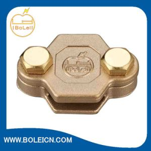 Metallic Conductor Clips Copper Earthing Grounding Clamps Oblong Test/Junction Clamp pictures & photos