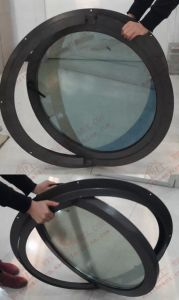 High Quality Aluminium Circular Casement Window (BHA-CWA28) pictures & photos