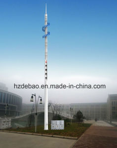 High Quality Ribbon Type Landscape Monopole Tower pictures & photos