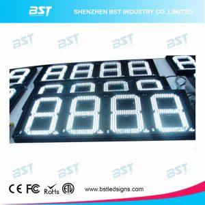 High Brightness White Color Petrol Price LED Display (Remote control) pictures & photos