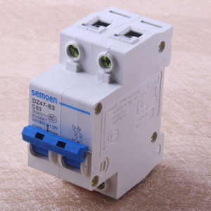 Electrical DC Circuit Breaker/Automatic Circuit Breaker/Miniature Circuit Breaker pictures & photos